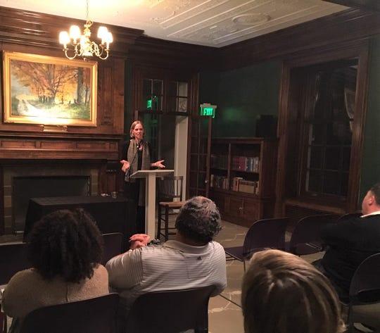 Jennifer Hambrick during a recent event at Bryn Du Mansion.