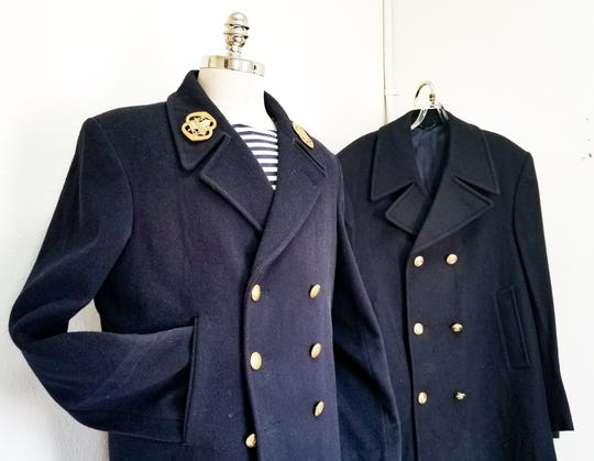 Naval pea coats are staples of military apparel collectors.