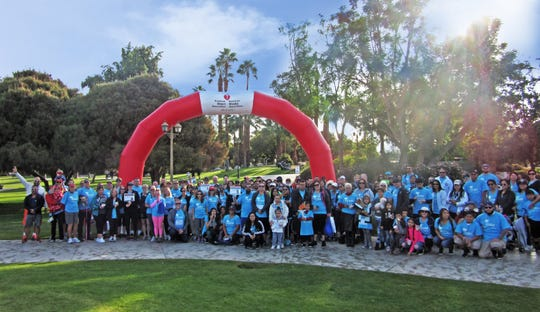 Walk, donate and help raise heart-health awareness on Saturday, Nov. 16.