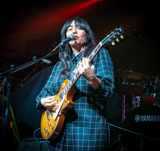 Giselle Woo performing at Chella in Indio, Calif. on April 17, 2019. Woo will perform at the Date Shed in Indio, Calif. on Oct. 26, 2019.