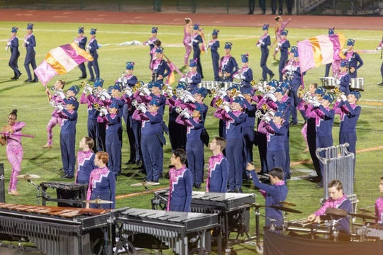 The Pace High School band won the West Harrison Hurricane Classic Saturday, a regional tournament fielding upwards of 15 bands each year in Gulfport, Mississippi.