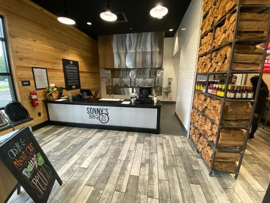 Sonny's BBQ at 54115 Highway 90 in Pace held its grand opening Monday.