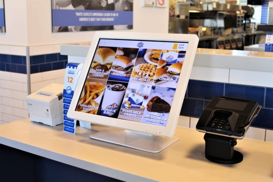 Arizona's first White Castle opens on Wednesday, Oct. 23 and customers will be able to place their orders at touch-screen kiosks at the front of the restaurant.