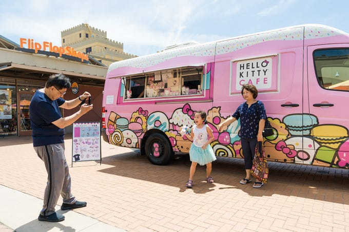 The Hello Kitty Cafe truck will stop in Gilbert on Oct. 26, 2019, as well as Tucson and Glendale in early November.