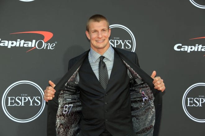 Former football player Rob Gronkowski would have liked to have played for Kliff Kingsbury.