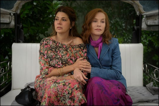 """Marisa Tomei and Isabelle Huppert in """"Frankie."""""""