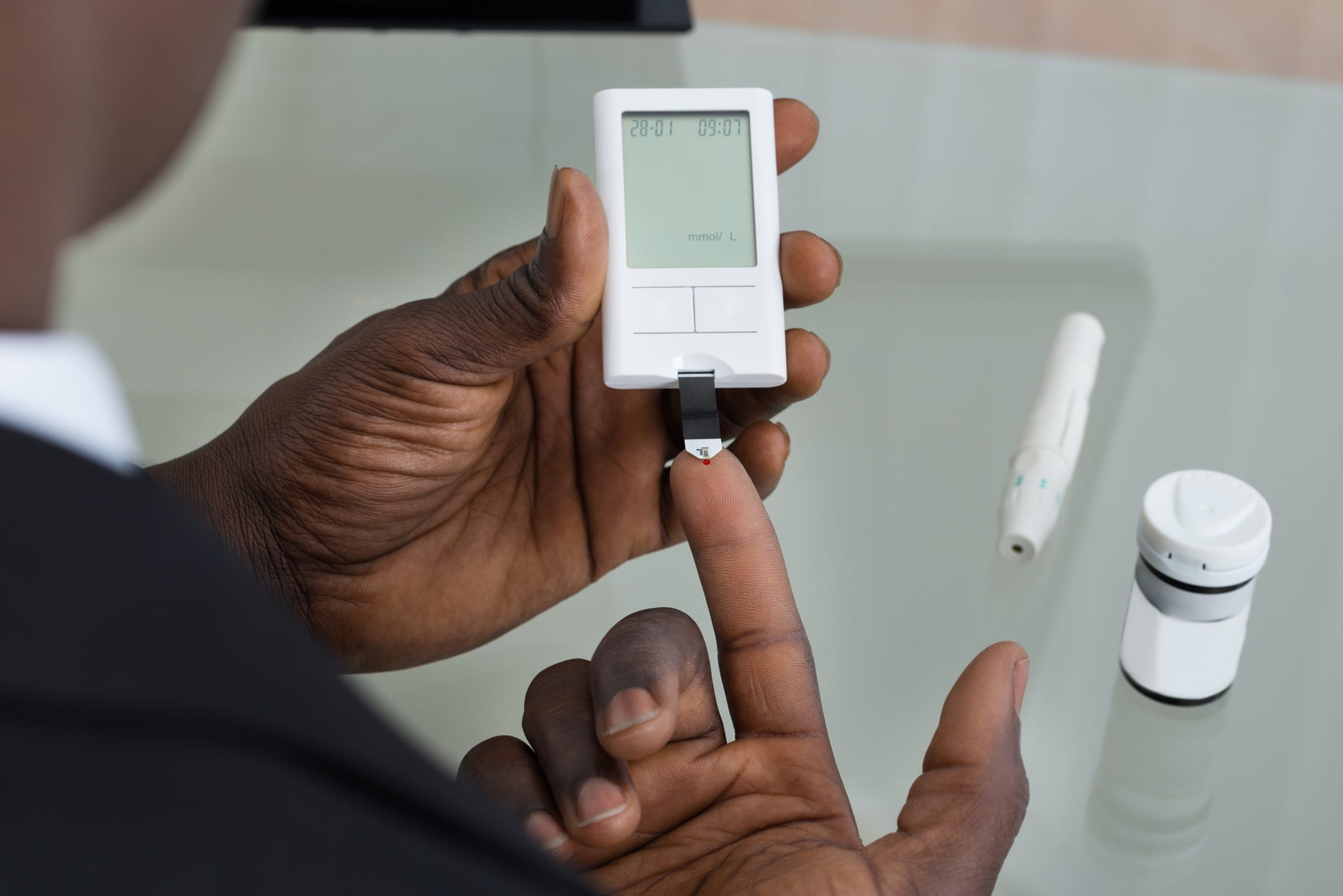 Controlling blood sugar levels is crucial in preventing diabetic retinopathy, because elevated blood sugar levels can damage the blood supply to the retina.