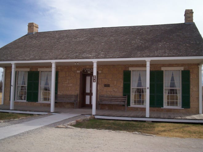 The Danner Museum of Telephones at Fort Concho.