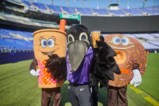 Following the Baltimore Ravens' Oct. 20 win against the Seattle Seahawks, customers in the Baltimore and Salisbury regions can celebrate the team's victory with a free coffee from Dunkin'.