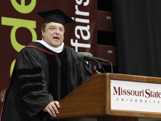 A few years ago, actor John Goodman spoke at Missouri State University's freshman convocation.