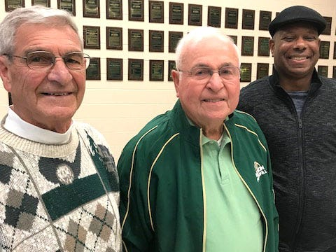 Three new members were inducted into the Wilson Memorial Athletic Hall of Fame Friday night. Composing the class of 2019 are Joe Hemp, Shelton Wine and Tony Spears. Hemp and Spears entered as former athletes and Wine as a supporter.