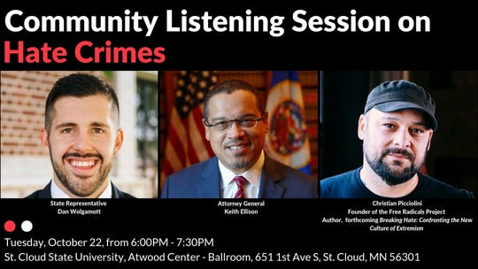 Community Listening Session on Hate Crimes