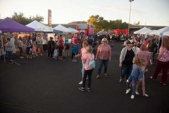Organizers of the St. George Streetfest expand to the Red Cliffs Mall for the inaugural Mallfest Friday, Oct. 18, 2019.