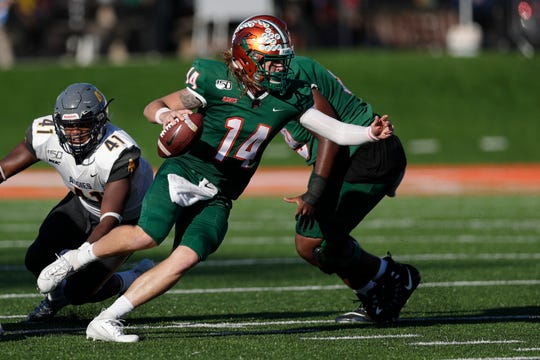 FAMU quarterback Ryan Stanley went 14 of 24 for 220 yards with two touchdowns versus North Carolina A&T at Bragg Memorial Stadium Sunday, Oct. 20, 2019.