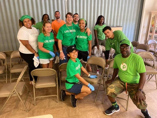 A Publix Super Market team from its East Port Plaza store volunteer at Sarah's Kitchen during the United Way of St. Lucie County's Day of Caring on Oct. 12, 2019.