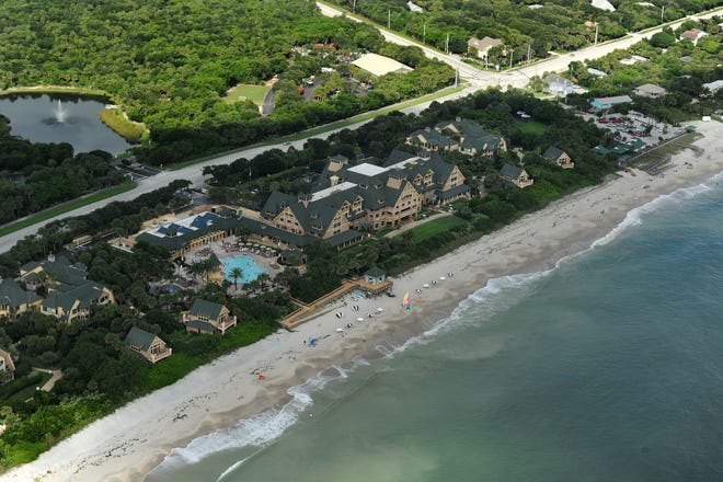 Disney's Vero Beach Resort is immediately south of Wabasso Beach in Indian River County. Disney's property spans across State Road A1A, the very western 26 acres of the property has been sold to GHO Homes.