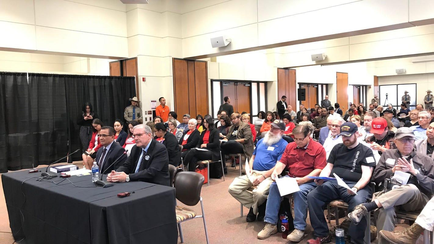 Connections between mass shootings, domestic violence among topics at state senate hearing