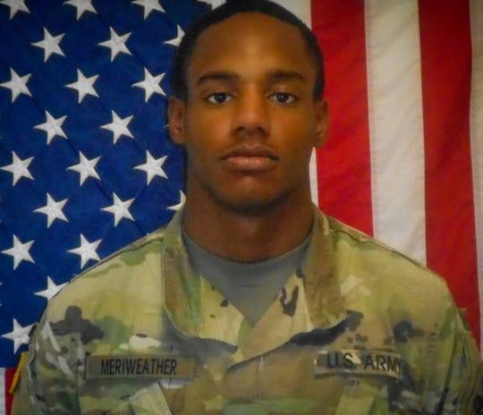 Army Spc. DeAngelo Monteza Meriweather