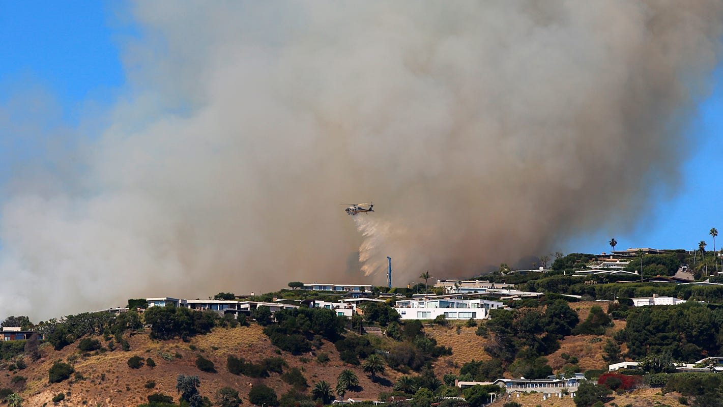 Red-flag warning issued for Ventura County as region braces for fire weather
