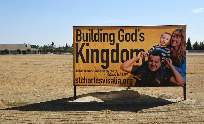 The largest Catholic church in the western U.S. began construction in Visalia on Tuesday, Oct. 15.  St. Charles Borromeo will open in 2021 and serve more than 3,000 parishioners on the corner of Akers Street and Caldwell Avenue.