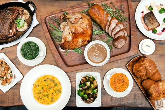 Thanksgiving dinner is offered both to-go and at the restaurant at BLT Steakhouse in White Plains.