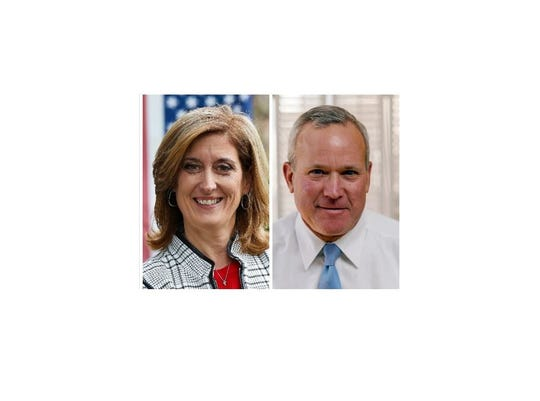 Teresa Kenney and Thom Kleiner are running for Orangetown supervisor in the November 2019 election.