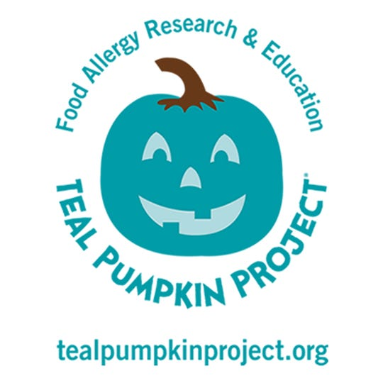 The Teal Pumpkin Project promotes awareness of food allergies, especially around Halloween when children can be exposed to treats with harmful effects.
