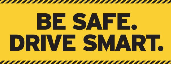 Be Safe. Drive Smart logo