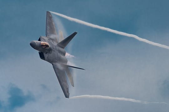 The F-22 Raptor Demo Team will fly the U.S. Air Force's will fly the second newest fighter aircraft, along with a P-51 Mustang both Saturday and Sunday at the free Guardians of Freedom Air Show and Open House from 9 a.m. to 4:30 p.m. both days at SAFB