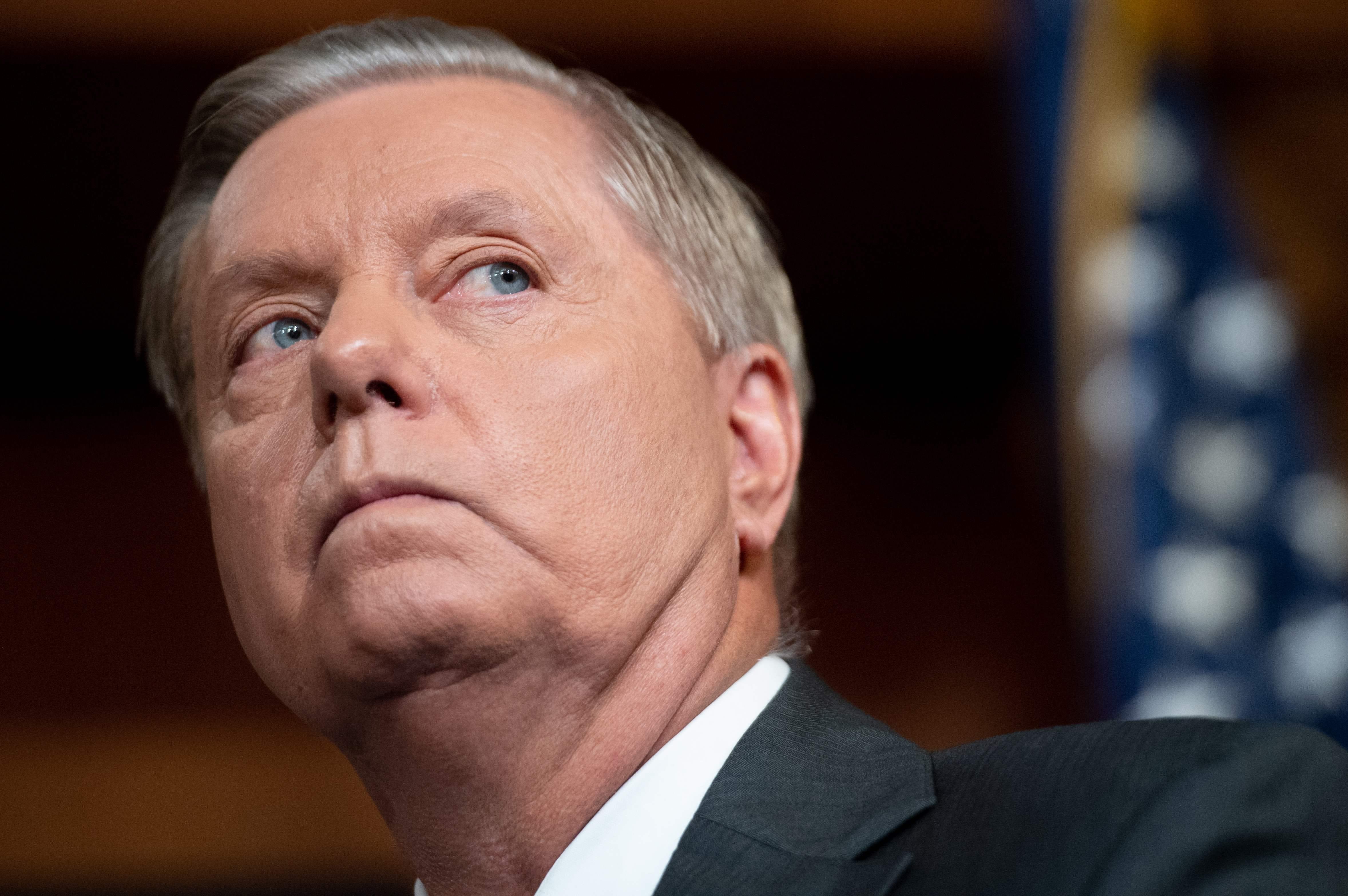 Sen. Lindsey Graham indicates he may support Trump impeachment if inquiry establishes  quid pro quo
