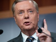 "Senator Graham's comments came a day before President Trump said a ""small"" number of U.S. troops will remain in Syria, in an apparent reversal."