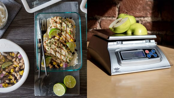 Best health and fitness gifts 2019: Pyrex Ultimate foot storage set & My Weigh KD-8000 kitchen scale