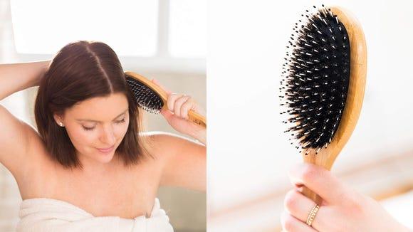 Best gifts for beauty 2019: Beauty by Earth Boar Bristle Hair Brush