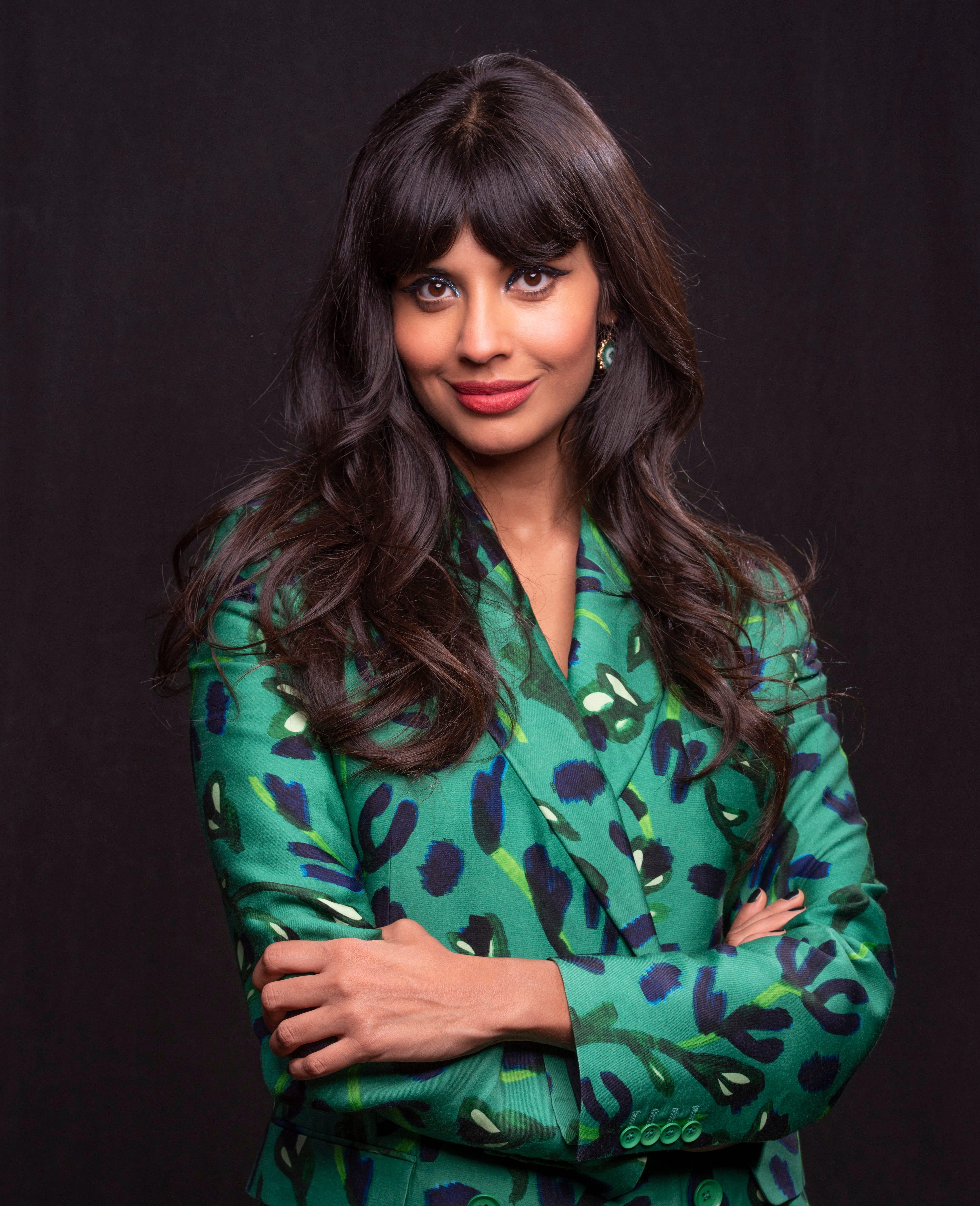 Good Place  star Jameela Jamil  almost threw up on camera  hosting  Misery Index