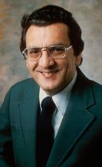 ESPN anchor Lou Palmer. 1980