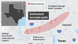 Video shows tornado hitting North Texas home