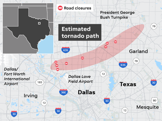 SOURCE nbcdfw.com; maps4news.com/©HERE