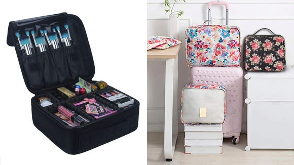 Best gifts for beauty 2019: Relavel Travel Makeup Case