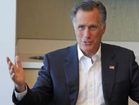 Sen. Mitt Romney, R-Utah, speaks during a roundtable discussion at Intermountain Primary Children's Hospital with officials and health experts to receive an update on anti-vaping efforts, Oct. 10, 2019, in Salt Lake City.