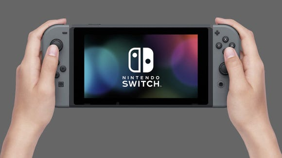 Best gifts for teen boys 2019: Nintendo Switch