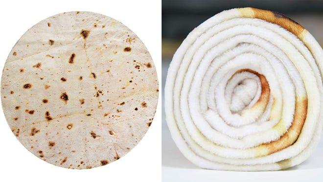 Los mejores regalos para los adolescentes varones: manta de burrito
