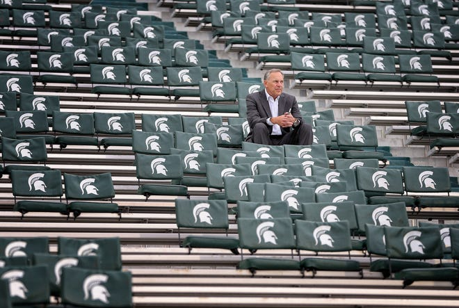 Mark Dantonio hasn't said a word publicly since the Dec. 27 Pinstripe Bowl.