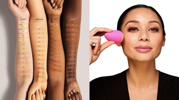 Best gifts for beauty 2019: Fenty Beauty Pro Filt'r Soft Matte Longwear Foundation and beautyblender original