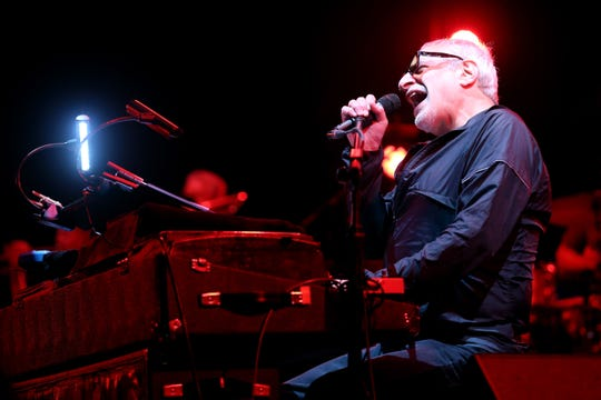Donald Fagen of Steely Dan performs onstage during day 1 of the 2015 Coachella Valley Music And Arts Festival (Weekend 2) at The Empire Polo Club on April 17, 2015 in Indio, California.