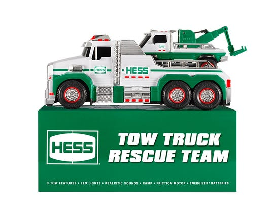 Save the box to store your 2019 Hess Truck set, especially if you're a collector.
