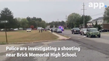 Police are investigating a Brick shooting after the victim ran into Brick Memorial High School for help. Schools were locked down after the incident.