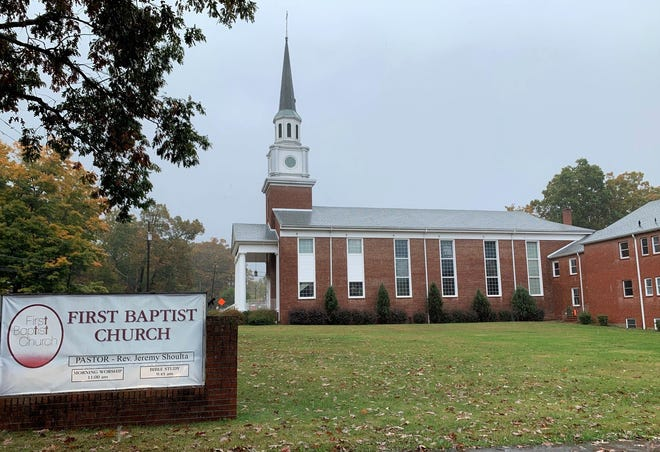 Members of First Baptist Church, on Oct. 20, voted unanimously to approve a lease with Black Mountain day care, Children and Friends Enrichment Center. The day care plans to build a facility on church property bordering Midland Avenue.