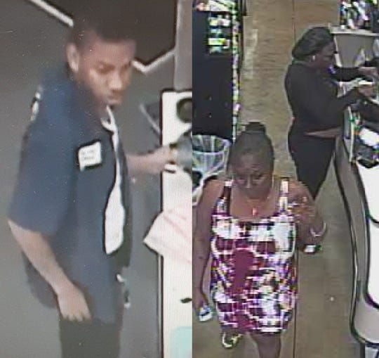 Palm Bay police are searching for members - two women and two men - of a suspected theft ring targeting gift cards.