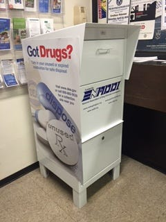 From 10 a.m. to 2 p.m. Saturday, people can bring expired, unused and unwanted prescription drugs to the Bucyrus City Hall lobby, 500 S. Sandusky Ave., or the Crawford County Sheriff's Office, 3613 Stetzer Road, for disposal.