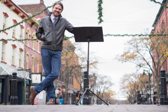 """""""Failure is not the opposite of success,"""" Ben Cadwallader said after he was hired in 2015 as the executive director of the Vermont Symphony Orchestra. """"Giving up is the opposite of success."""""""